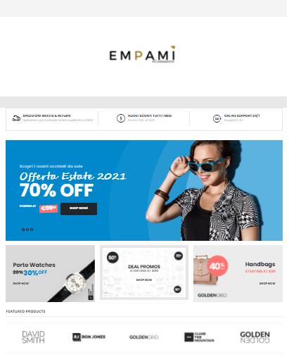 Creo sito internet web, creazione E-commerce, sito web verona