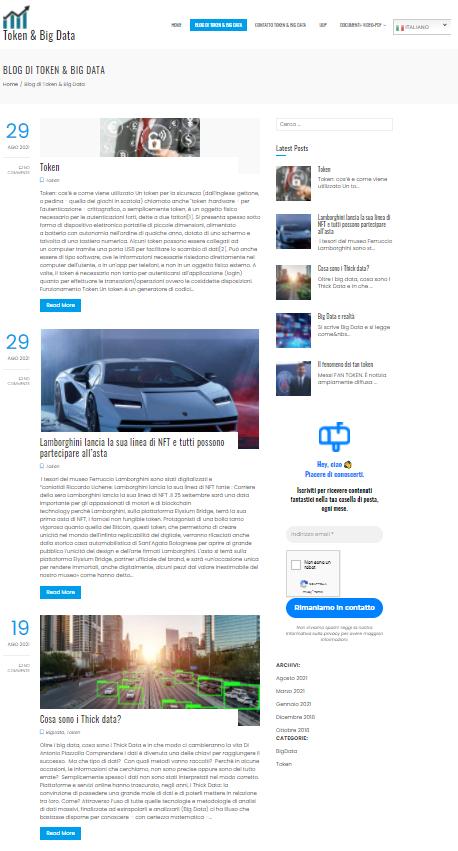 creazione articoli blog, creo sito internet web